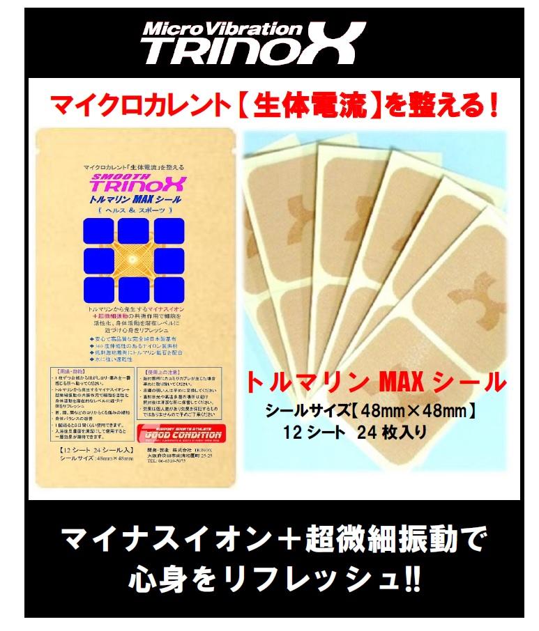 バナー トルマリン・MAX シール大判(12シート入)