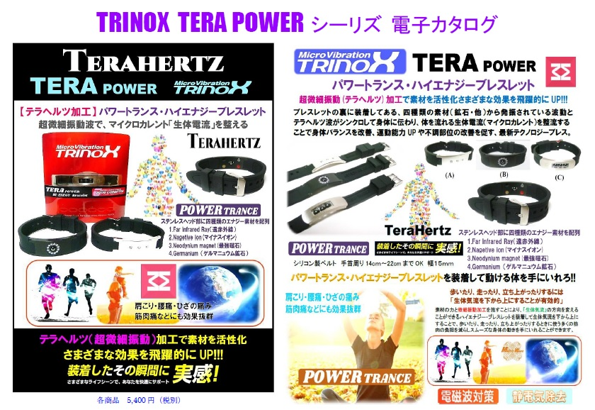 3. TERA POWER シーリズ電子カタログ 表紙