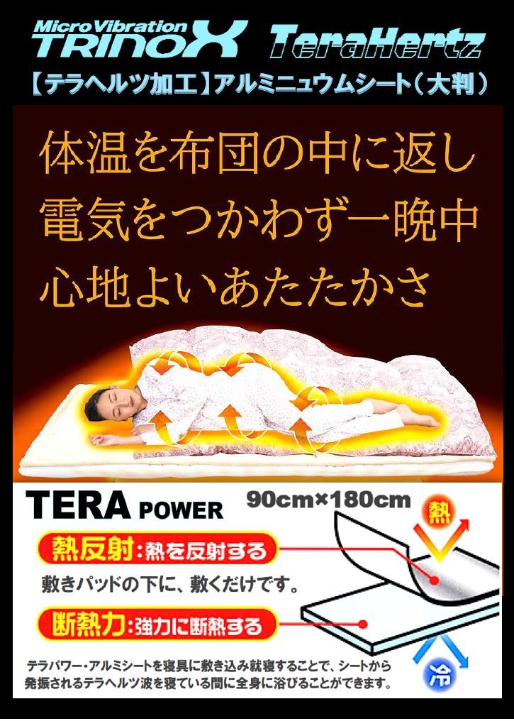 4 TRINOX テラパワー・アルミシート