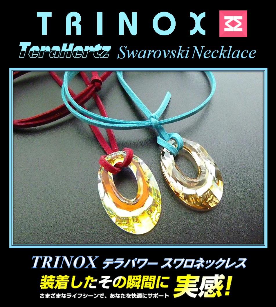 7 バナー TRINOX テラパワー スワロネックレス