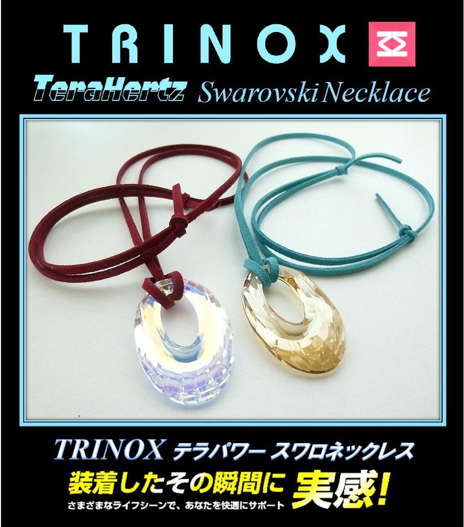 8 バナー TRINOX テラパワー スワロネックレス