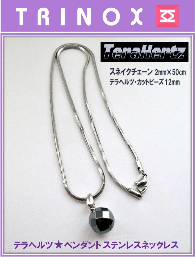 02 スネイク2mm ペンダントステンレスネックレス バナー